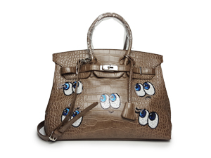 Playnomore Shy Family Taupe Tote Bag