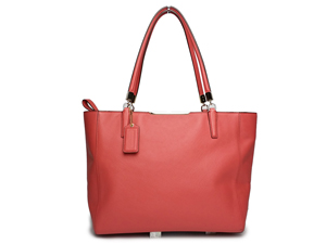 Coach Saffiano Leather Madison East West Tote Bag