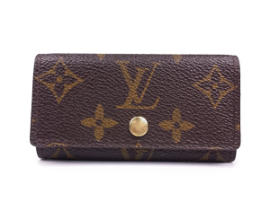 SOLD OUT Louis Vuitton Monogram Canvas 4 Key Holder M62631