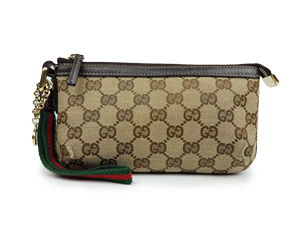 SOLD OUT Gucci GG Signature Clutch Wristlet