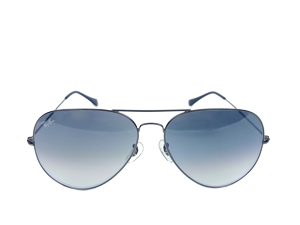 BRAND NEW Ray Ban Aviator Large Metal II 004/32 62-14 Gradient Lenses