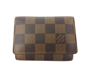 SOLD OUT Louis Vuitton Damier Ebene Business Card Holder N62920