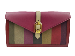SOLD OUT Fendi Zucca Flap Wallet