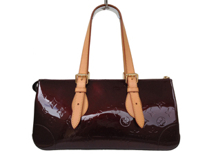 Louis Vuitton Vernis Rosewood in Amarante (Stamp Name)