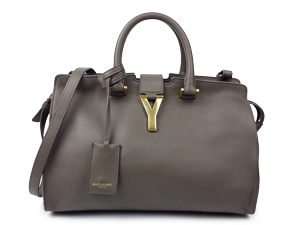 YSL Yves Saint Laurent Petite Y Line Top Handle Bag