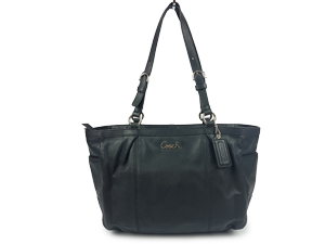 Coach Gallery Signature Leather Tote Shoulder Bag F17721