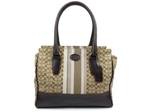 Coach Legacy Signature Stripe Candace Carryall 19915