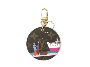 SOLD OUT BRAND NEW Louis Vuitton Illustrt Evasion Bag Charm