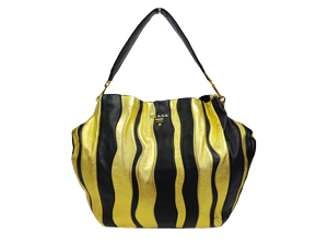 Prada Nappa Stripes Shoulder Bag BR3932