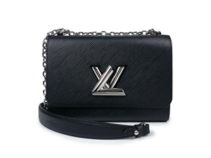 BRAND NEW Louis Vuitton Black Epi Twist MM M50282