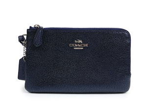 SOLD OUT Coach Double Corners Zip Wristlet