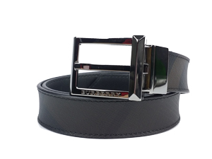 Burberry Smoke Check Reversible Belt