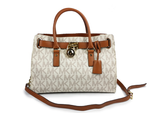 Michael Kors Hamilton Logo Satchel Bag