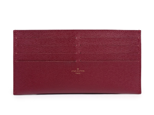 SOLD OUT Louis Vuitton Leather Note And Card Holder