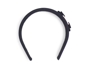 SOLD OUT Salvatore Ferragamo Black Ribbon Headband