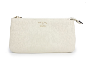 SOLD OUT BRAND NEW Gucci White Leather Soho Wristlet