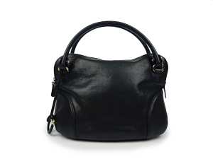 SOLD OUT Salvatore Ferragamo Black Leather Tote