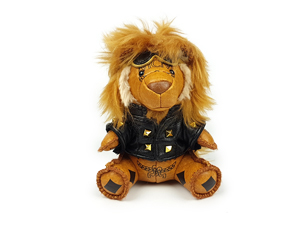 BRAND NEW MCM Cisneros Moto Lion Charm Key Ring