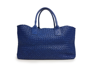 Bottega Veneta Woven Leather Cabat Bag