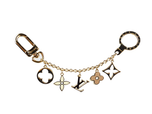 Louis Vuitton Fleur De Monogram Bag Charm Chain M65111