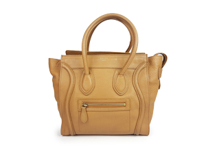 SOLD OUT Celine Camel Grain Leather Micro Shopper Tote