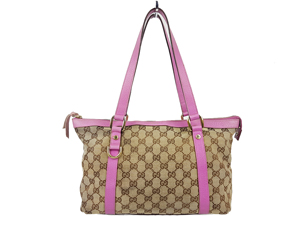 Gucci GG Canvas Abbey D Ring Tote Bag