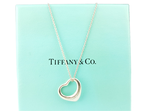 Tiffany & Co Heart Pendant Necklace