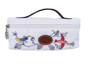 BRAND NEW Limited Edition Longchamp  Bird Cosmetic Bag