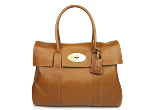 Mulberry Oak Natural Leather Bayswater Bag