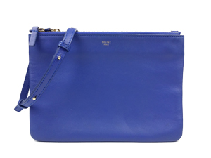 SOLD OUT Celine Blue Trio Crossbody Bag