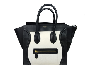 Celine Bicolor Mini Luggage