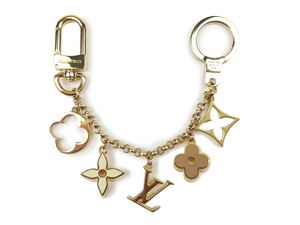 SOLD OUT Louis Vuitton Fleur De Monogram Bag Charm Chain M65111