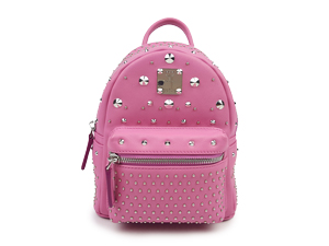 SOLD OUT MCM Pink Bebe Boo X Mini Leather Backpack