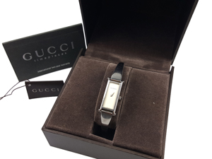 Gucci Stainless Steel Silver Ladie's Bangle Watch
