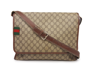 Gucci Signature Web Loop Messenger Bag