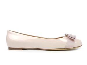 SOLD OUT Salvatore Ferragamo Varina Patent Flats