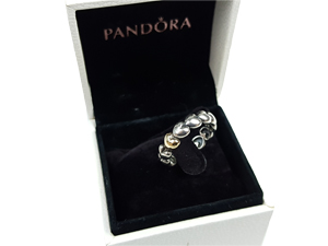 Pandora Large Heart Ring