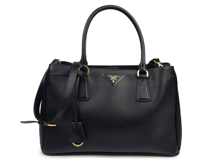 SOLD OUT Prada Black Saffiano Lux Tote With Shoulder Strap BN1874