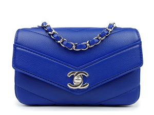 SOLD OUT BRAND NEW Chanel Grained Calfskin Mini Flap WSH