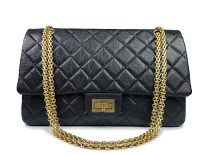 SOLD OUT Chanel Black Calfskin 227 Reissue Flap WGH