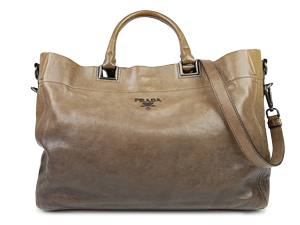 SOLD OUT Prada Leather Argilla Two Way Tote BN2081