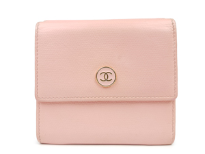 SOLD OUT Chanel Pink Compact Wallet