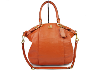 Coach Madison Leather Lindsey Satchel Bag F18641