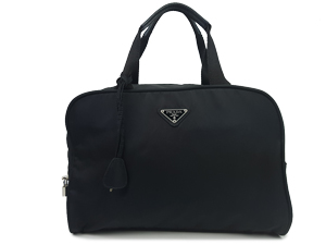Prada Black Nylon Handle Bag