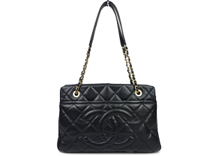 SOLD OUT Chanel Black Caviar Timeless Tote
