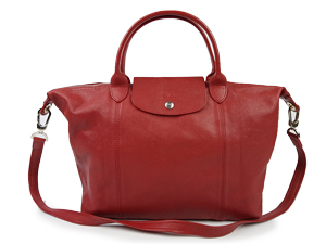 Longchamp Le Pliage Cuir Sling / Handle