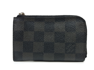 Louis Vuitton Damier Graphite Car Key Zip Pouch