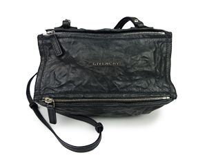 Givenchy Black Sheep Leather Pandora Mini Crossbody