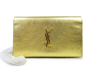 SOLD OUT BRAND NEW YSL Yves Saint Laurent Classic Kate Monogram Chain Wallet