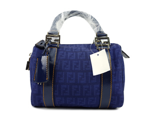 Fendi Zucchino Forever Boston Top Handle